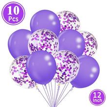 Load image into Gallery viewer, Happy Birthday Party Decorations 10pcs Balloons Baby Shower Party Just Married Supplies Princess First Birthday Girl Boy