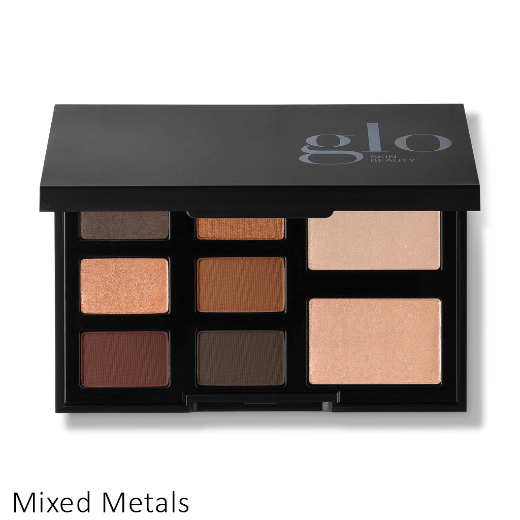 Glo Skin Beauty Shadow Palette Mixed Metals