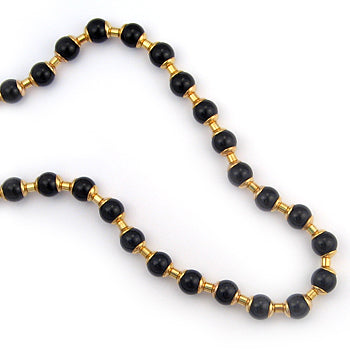 Middle Kingdom Black Onyx Necklace