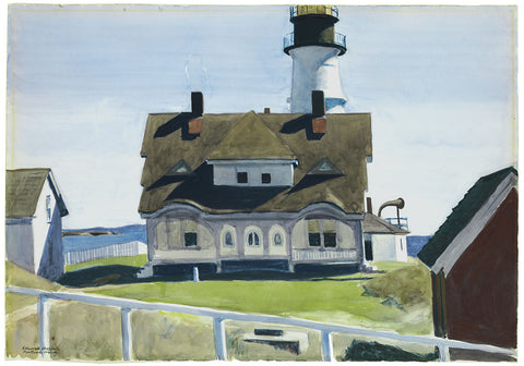 EDWARD HOPPER, CAPTAIN STROUT'S HOUSE, PORTLAND HEAD