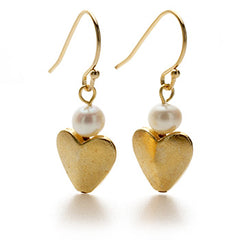 Bactrian Heart Earrings