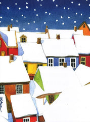 Snowy Village Boxed Holiday Cards