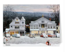 Rockwell: Home for Christmas Holiday Cards