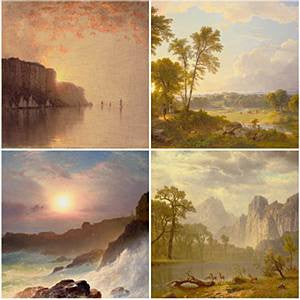 Hudson River School Coaster Set