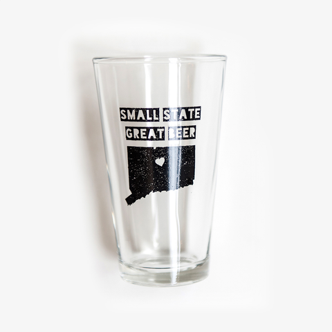 Small State Great Beer Pint Glass