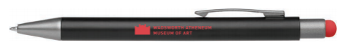 Light Up Wadsworth Atheneum Logo Pen