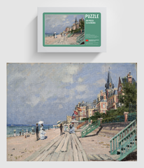 Beach At Trouville Puzzle