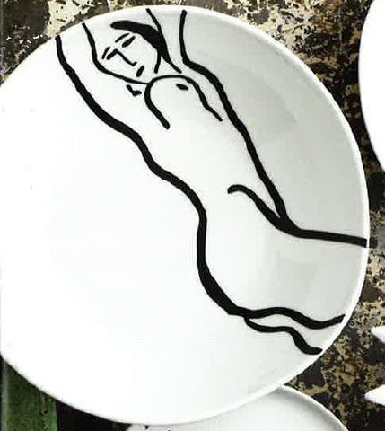 Serving Bowl Reclining Nude