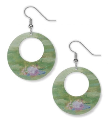 Monet Nympheas Earrings