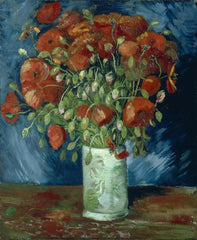 Van Gogh: Vase With Poppies Print