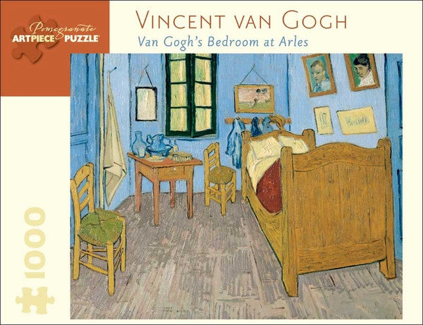 vincent van gogh van gogh 39 s bedroom at arles puzzle wadsworth