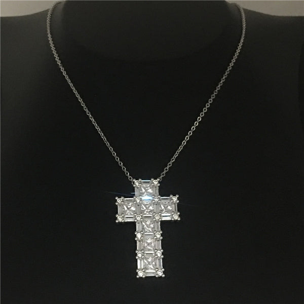 Big Cross Pendants Necklace