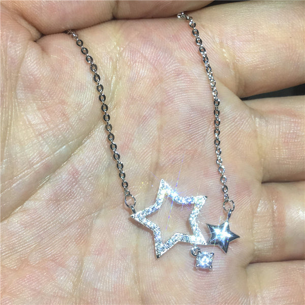 Star shape Pendants Necklace
