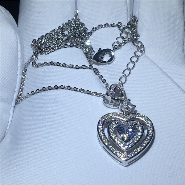 Louise Heart Necklace