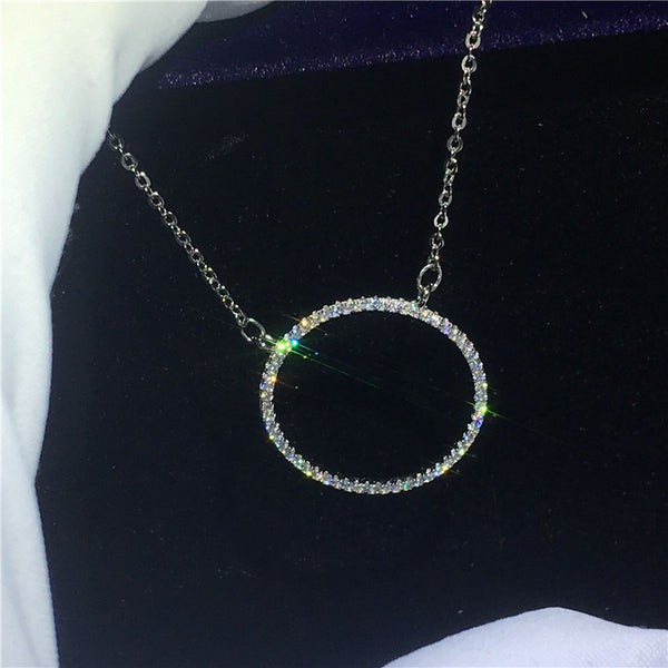 Round Hollow Necklace