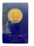 1/2oz Melita Gold Coin 2018