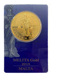 1oz Melita Gold Coin 2018