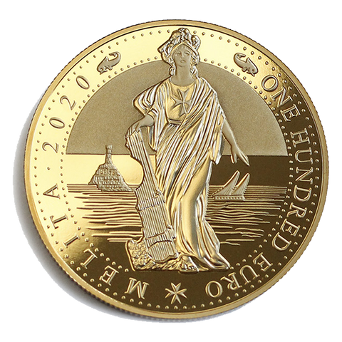 1oz Melita Gold Coin 2020