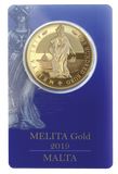 1oz Melita Gold Coin 2019