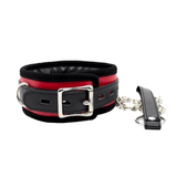 Daddy's Little Pet's Haven Bondage Collar With Metal Chain