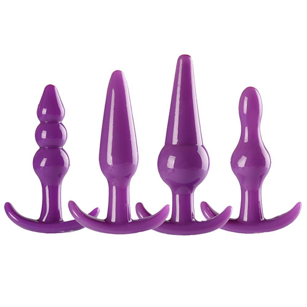 4 Pcs/Set Various Types Silicone Plugs Set