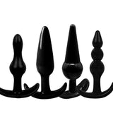Soft Silicone Anal Plugs - Various Shapes and Colors to choose from