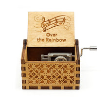 Load image into Gallery viewer, Antique Carved Music Box (24 Themes)
