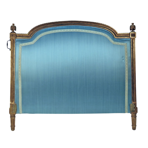 Louis XVI Gilt Wood Headboard France / Italy circa 1840