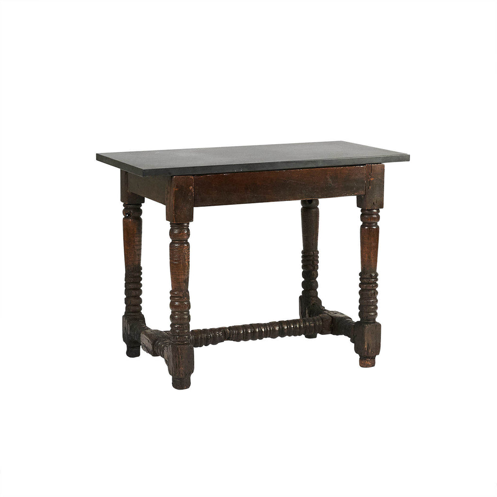 Baroque Table With Later Slate Top, Northern Europe circa 1700