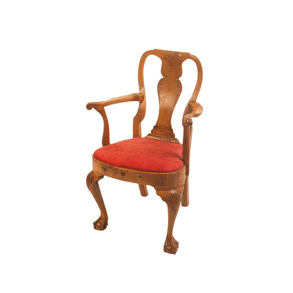18th Century Georgian Irish Armchair
