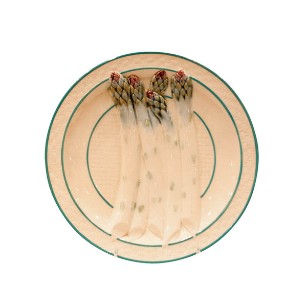 Circa 19th Century French Asparagus Plate