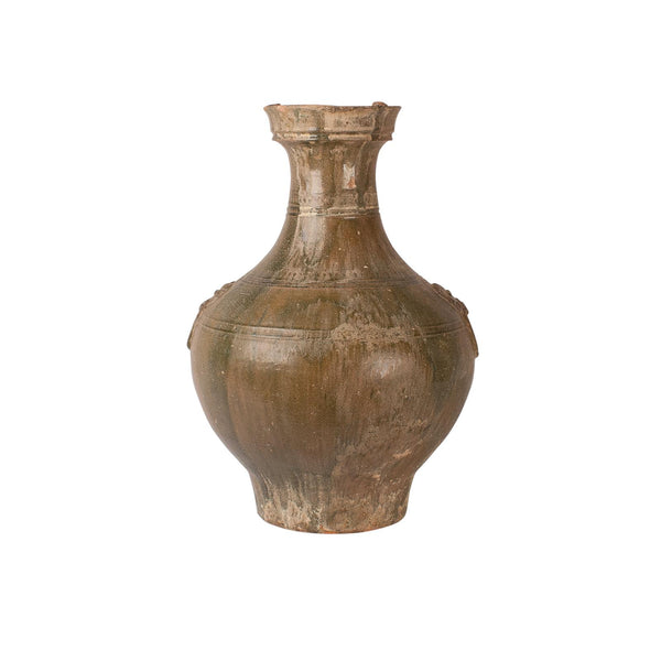 Han Dynasty Wine Jar, China Circa 200 BC - 200 AD