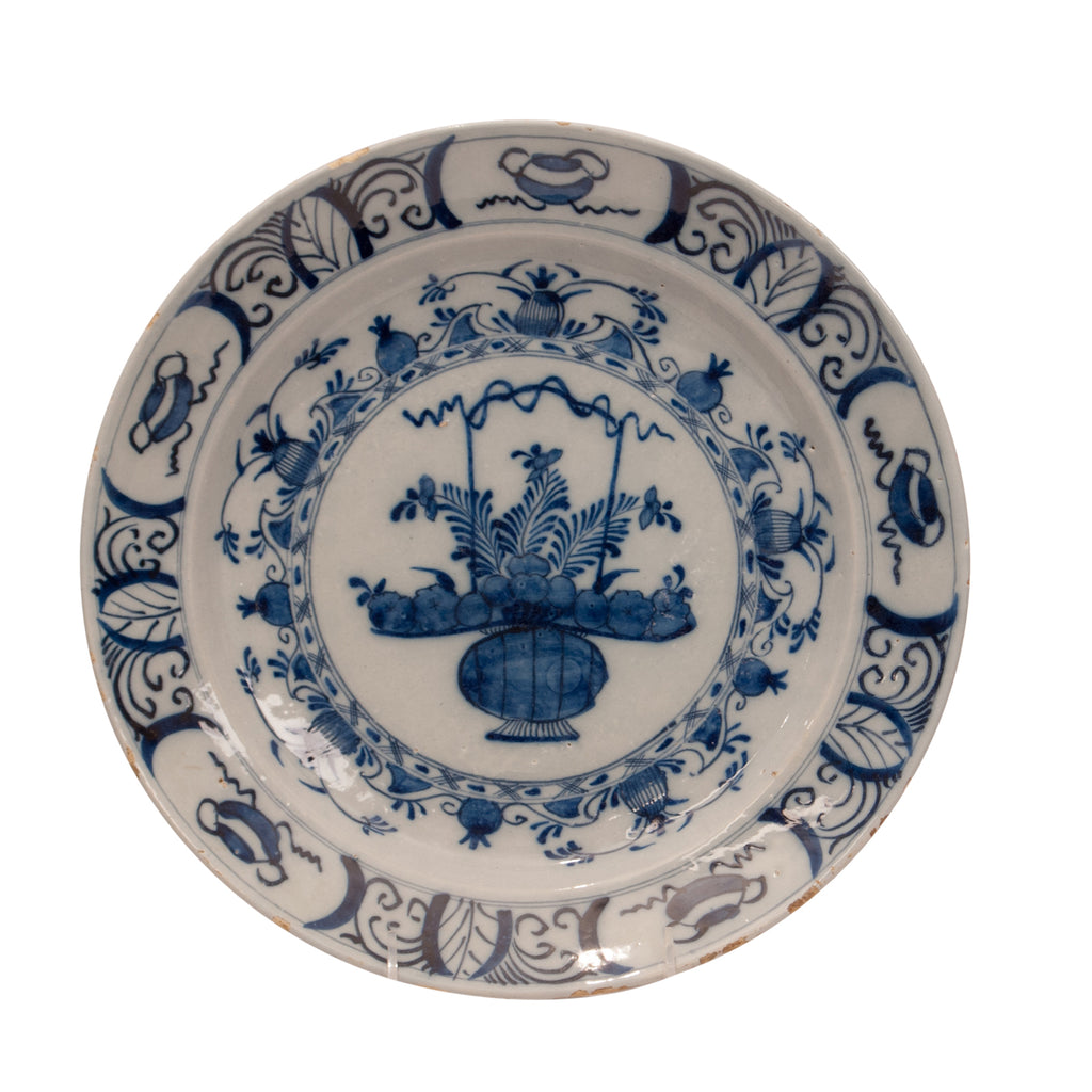 Delft Pottery Charger, Holland circa 17th – 18th Century
