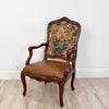 Baroque Walnut Armchair, Italy circa 1770