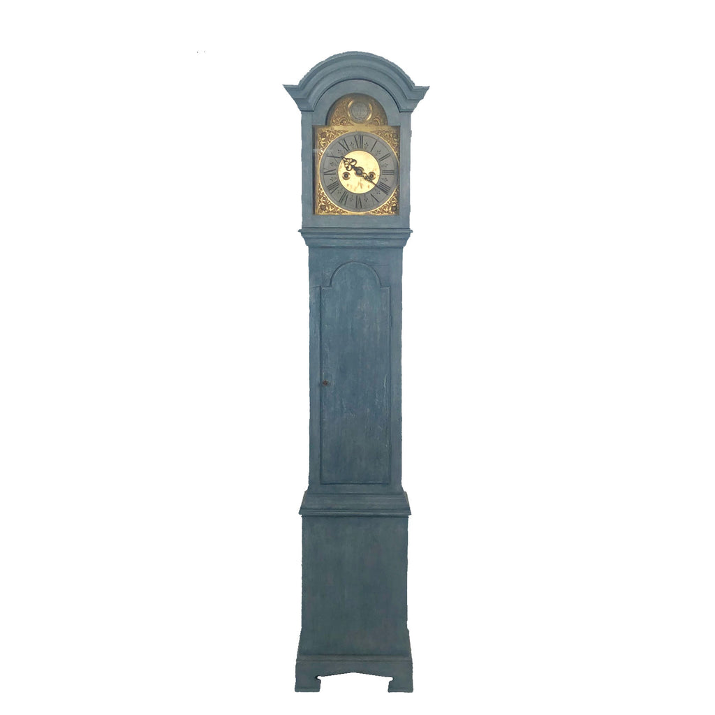 Swedish Grandfather Clock, 18th Century