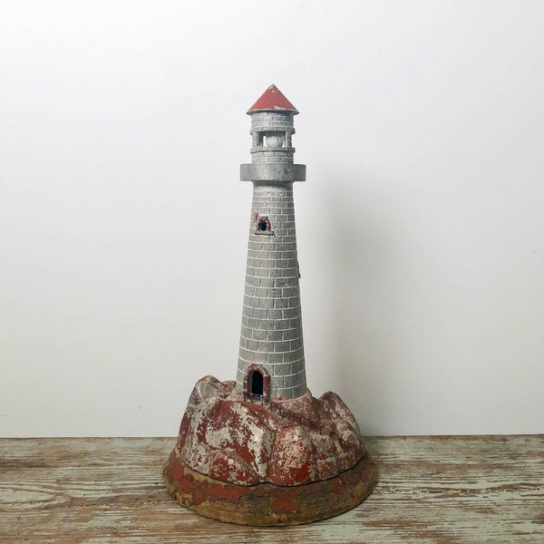 Vintage Lighthouse Sculpture