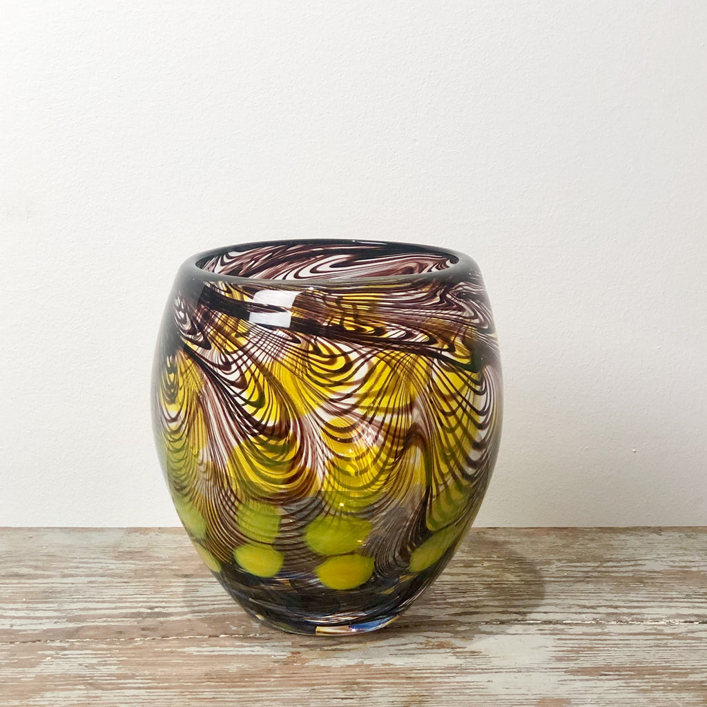 Large Murano Art Glass Vase, Italy circa 1960