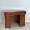 Neoclassical Walnut Drop Leaf Desk, Italy circa 1820