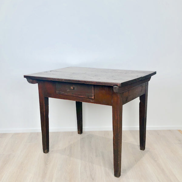 Rustic Northern European Work Table, 19th Century