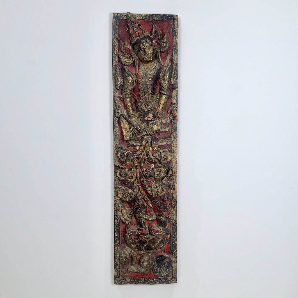 Carving of a Bodhisattva, South East Asia
