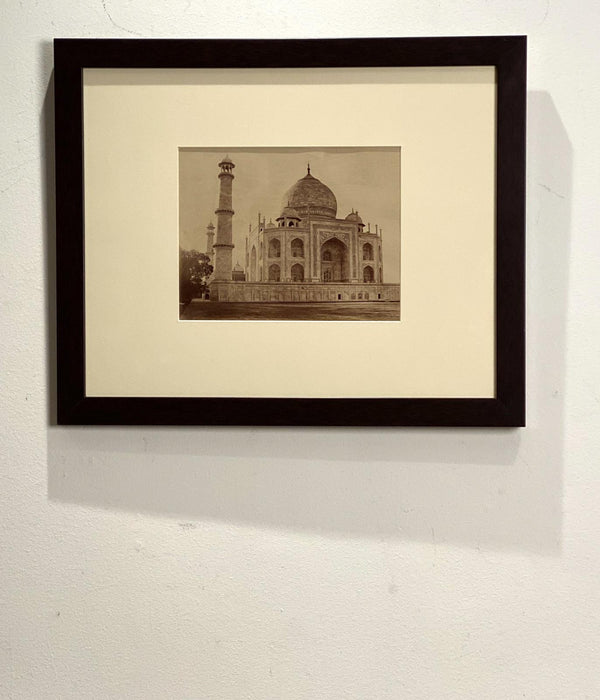 Antique Photograph of Taj Mahal