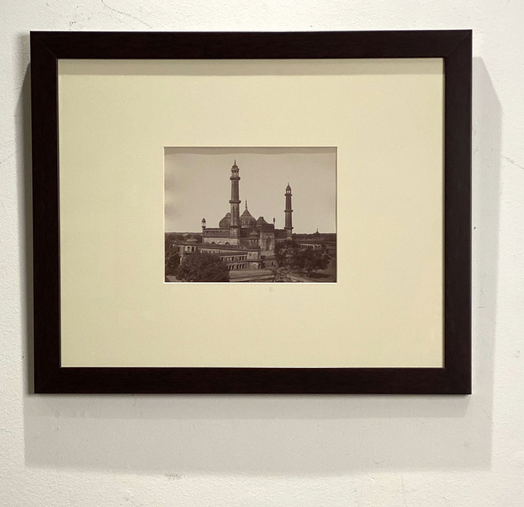 Antique Photograph of the Asafi Masjid