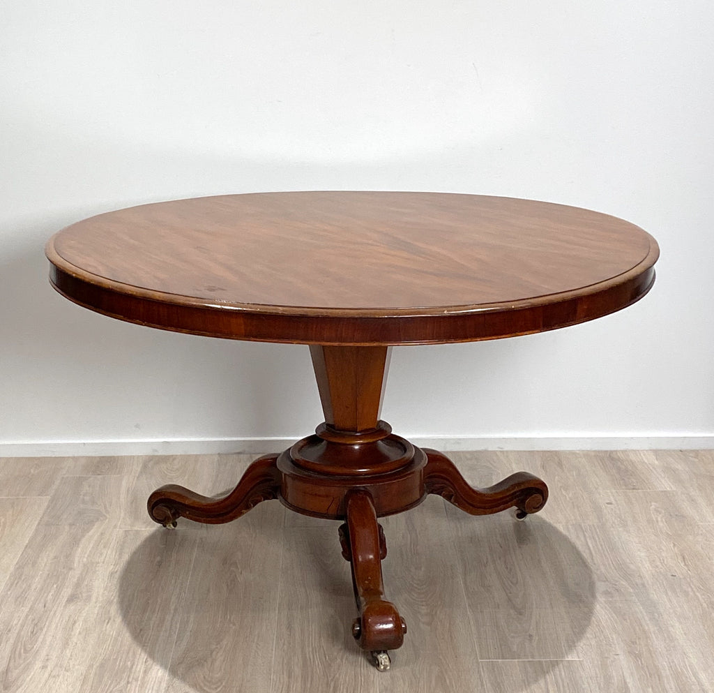 Circa 1835 William IV Center Table, England