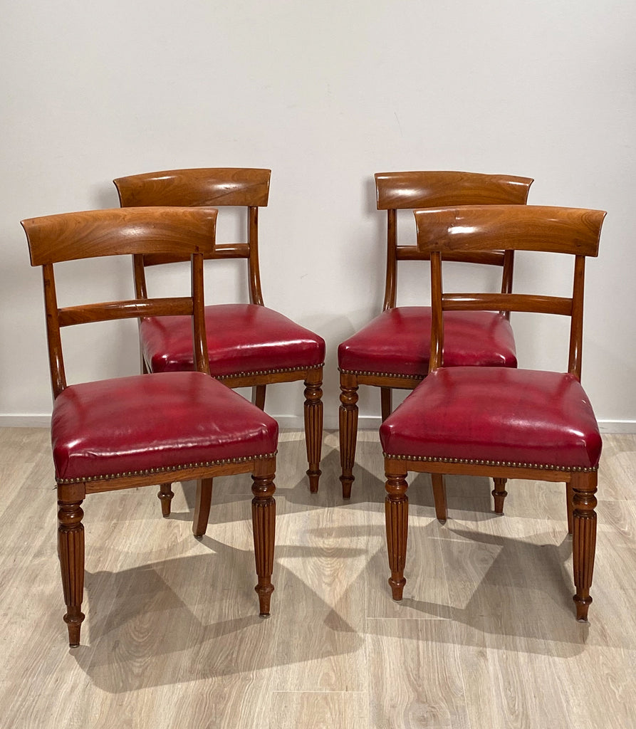 Set of 4 Regency Side Chairs