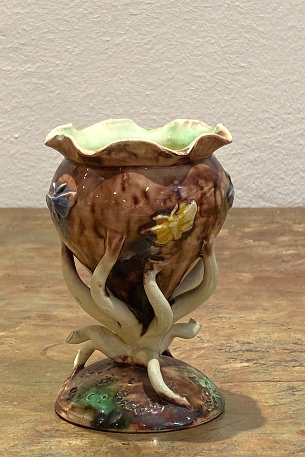 French 19th Century Thomas Sargent Small Vase