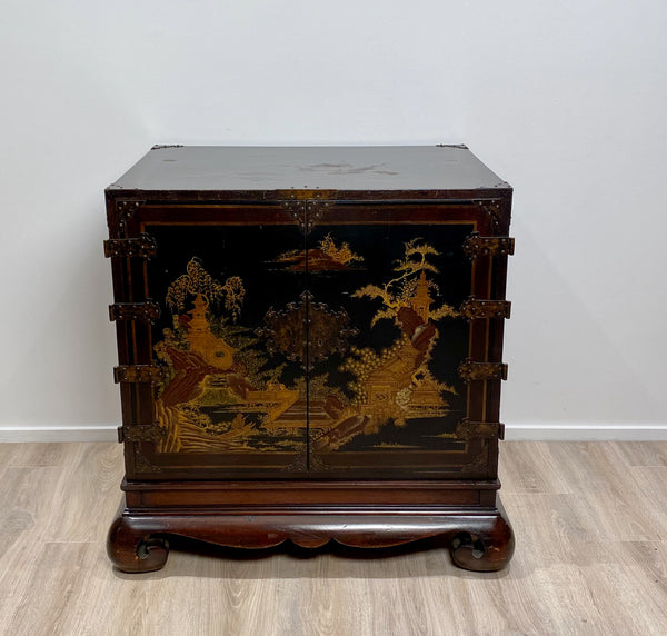 Vintage Japanese Cabinet, England circa 1920