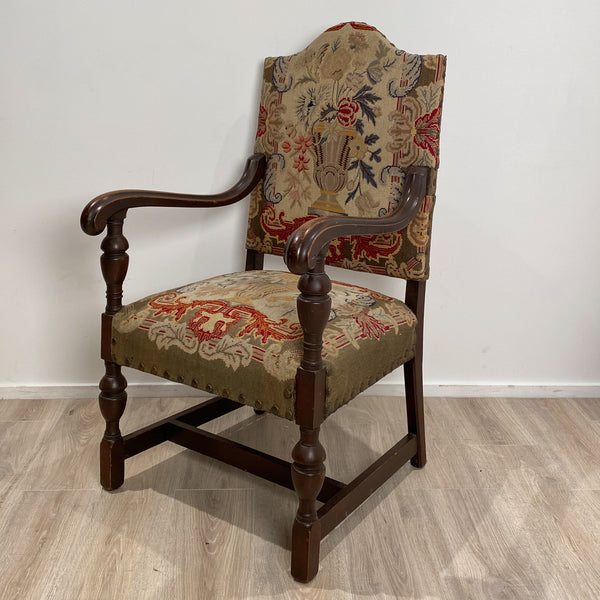 French Renaissance Revival Armchair, Circa 1900