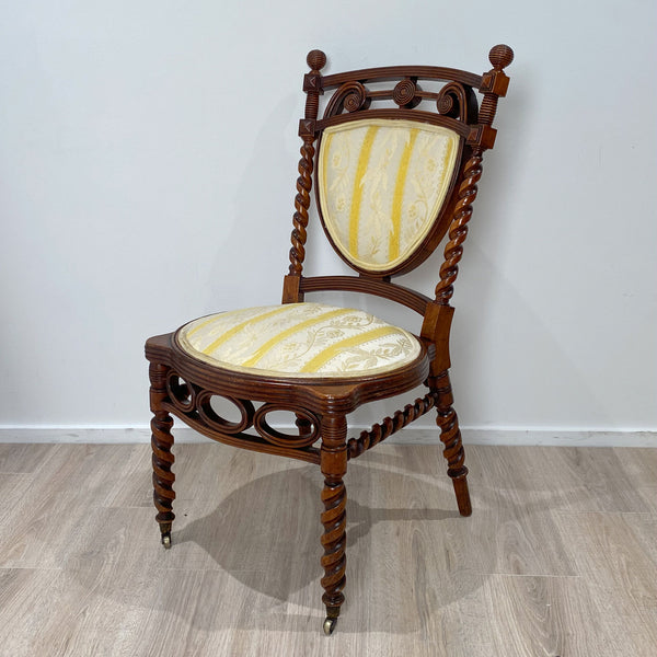 Huntzinger Style Side Chair, circa 1870