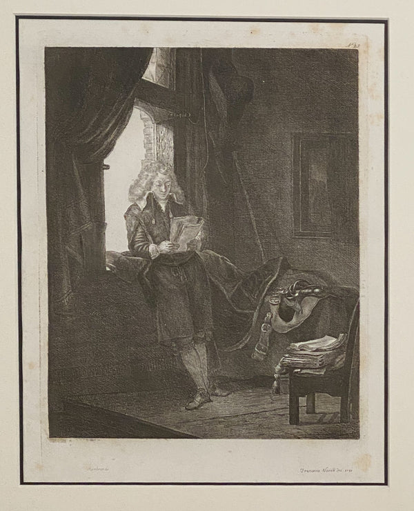 Rembrandt Etching #25, by Francesco Novelli