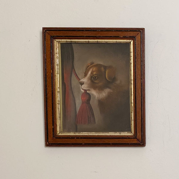 Dog Painting, American Circa 19th Century
